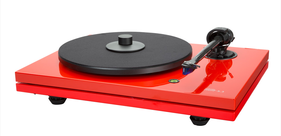 Music Hall 5.3LE - Ferrari red Turntable