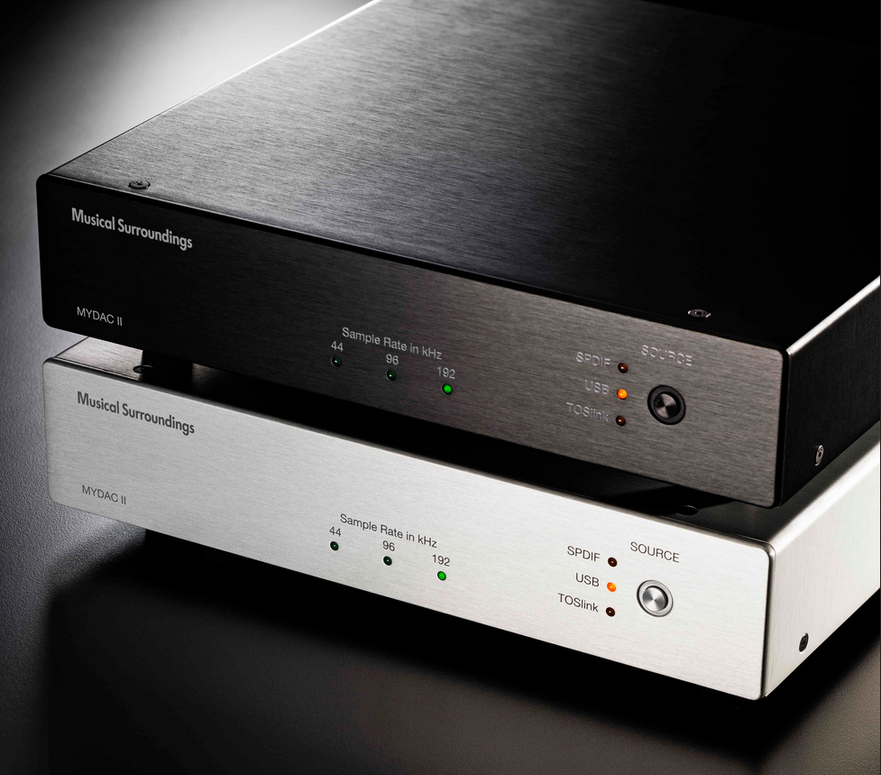 Musical Surroundings My DAC II - SPDIF/TosLink DAC Front
